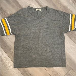 Urban Outfitters jersey style top
